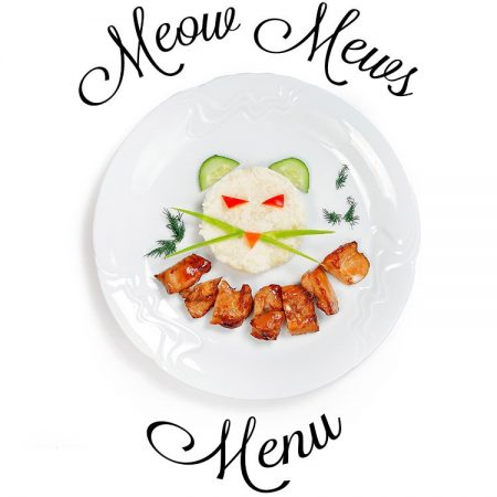 Meow Mews A La Carte Menu