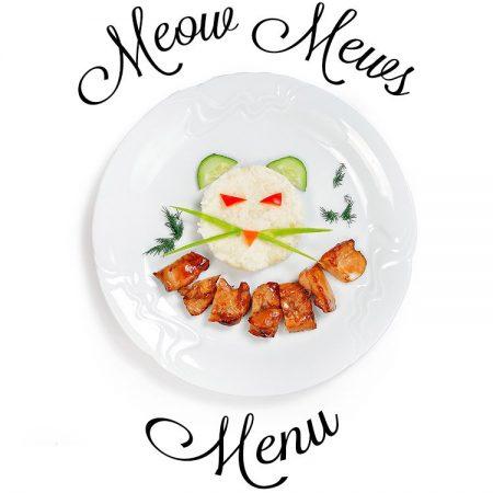 Meow Mews A La Carte Menu